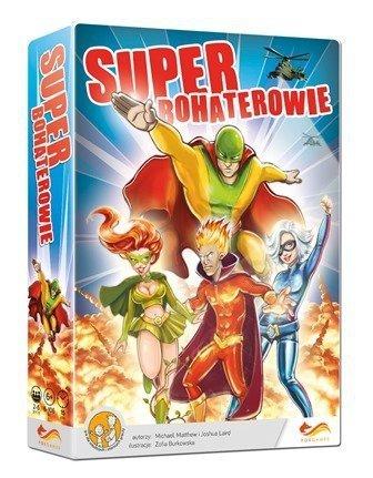 Superbohaterowie gra rodzinna