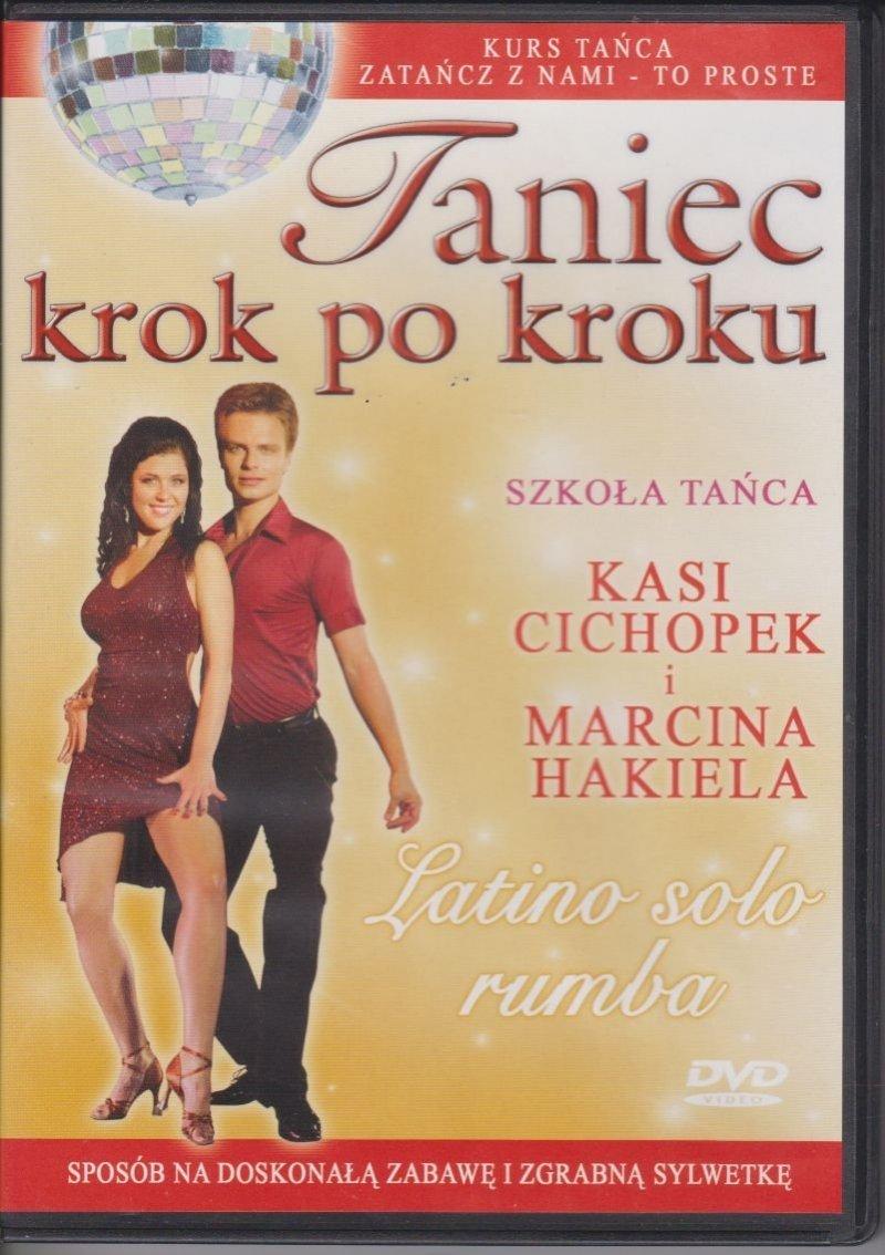 Taniec krok po kroku Latino solo rumba Szkoła tańca Kasi Cichopek i Marcina Hakiela DVD