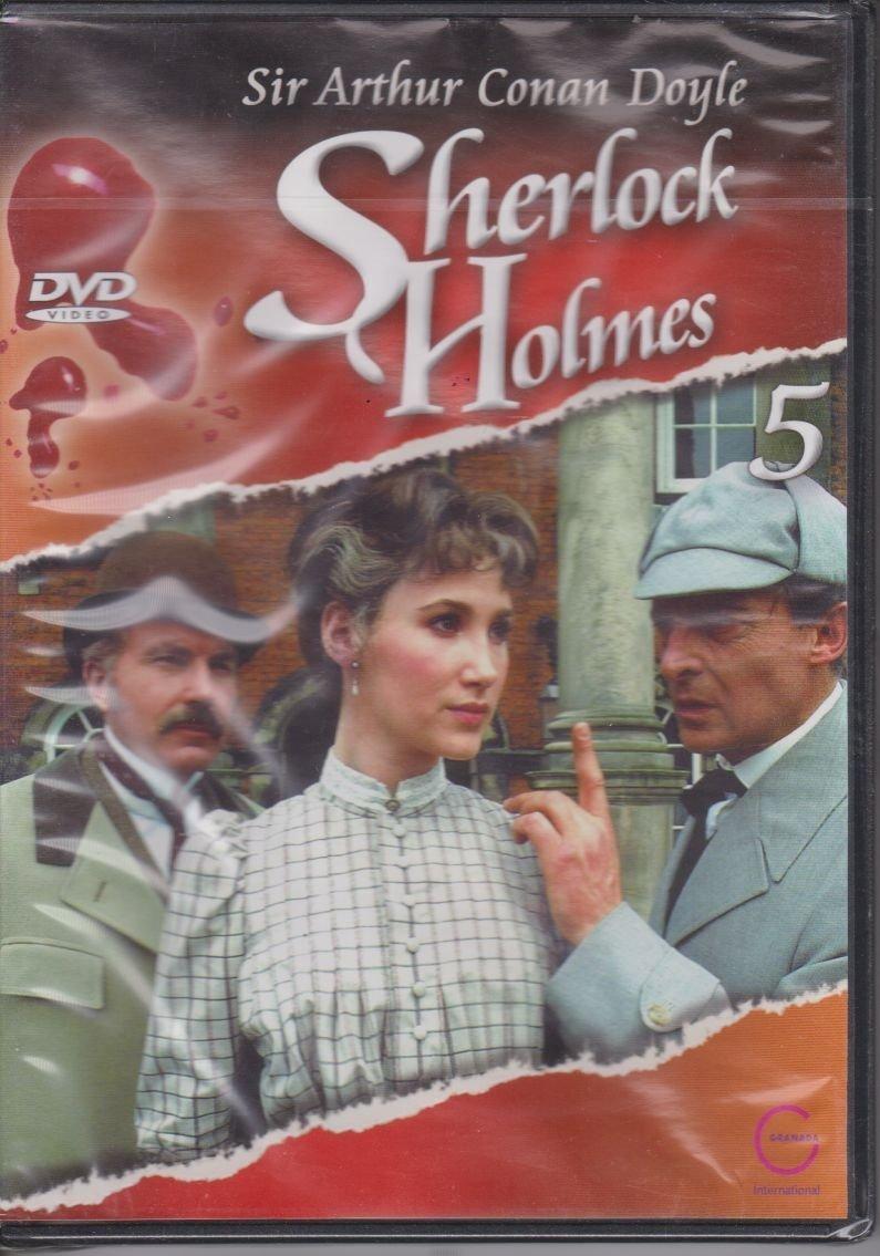 Sherlock Holmes Sir Arthur Conan Doyle cz. 5 Nakrapiana przepaska, Błękitny karbunkuł DVD