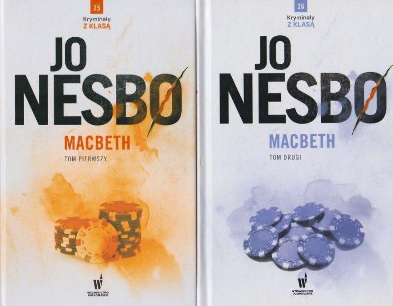 Macbeth Tom 1 i 2 Kryminał z klasą nr 25 i 26 Jo Nesbø