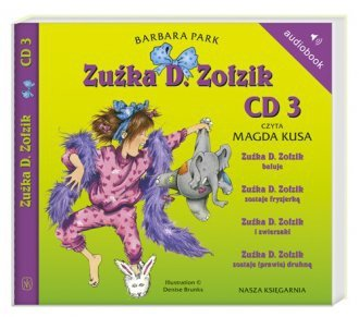 Zuźka D. Zołzik Barbara Park t. 3 (CD mp3)