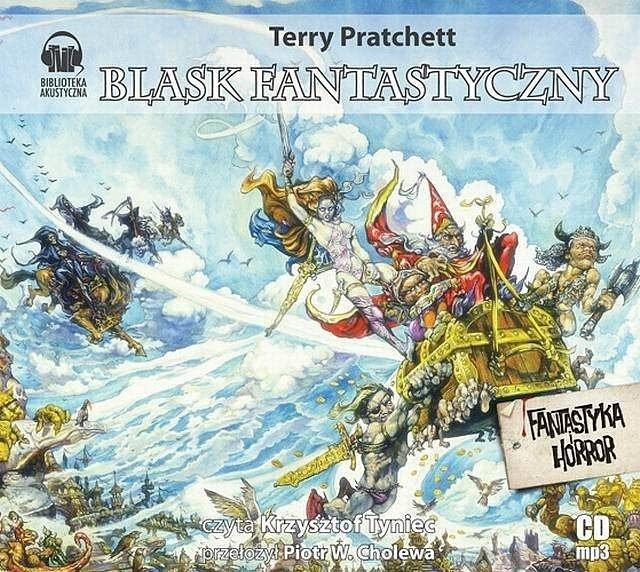 Blask fantastyczny Terry Pratchett Audiobook mp3