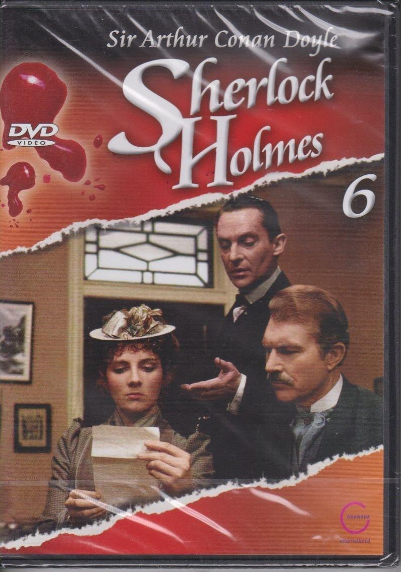 Sherlock Holmes Sir Arthur Conan Doyle cz. 6 Przygoda w Copper Beeches, Grecki tłumacz DVD
