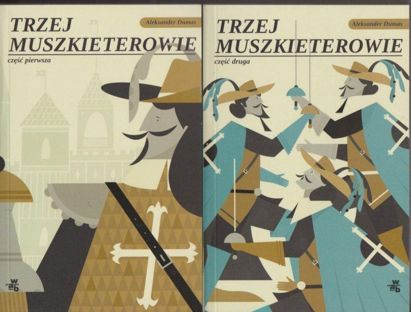 Trzej Muszkieterowie Aleksander Dumas cz.1 i 2 (komplet)