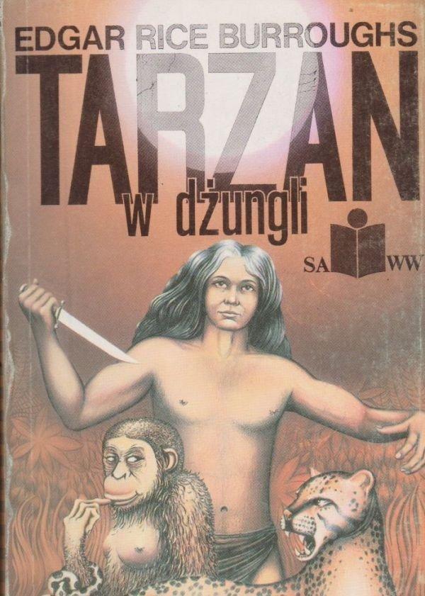 Tarzan w dżungli Edgar Rice Burroughs