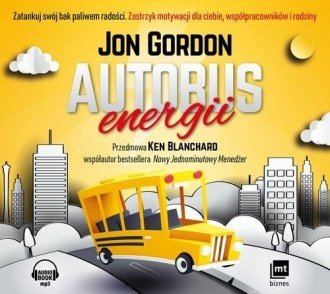 Autobus energii Jon Gordon audiobook cd Mp3