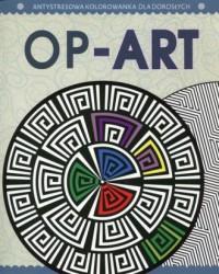 Op-Art Antystresowa kolorowanka dla dorosłych Część 8