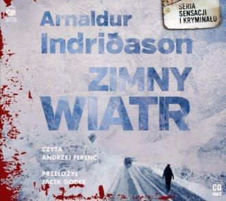 Zimny wiatr (CD mp3) Arnaldur Indridason