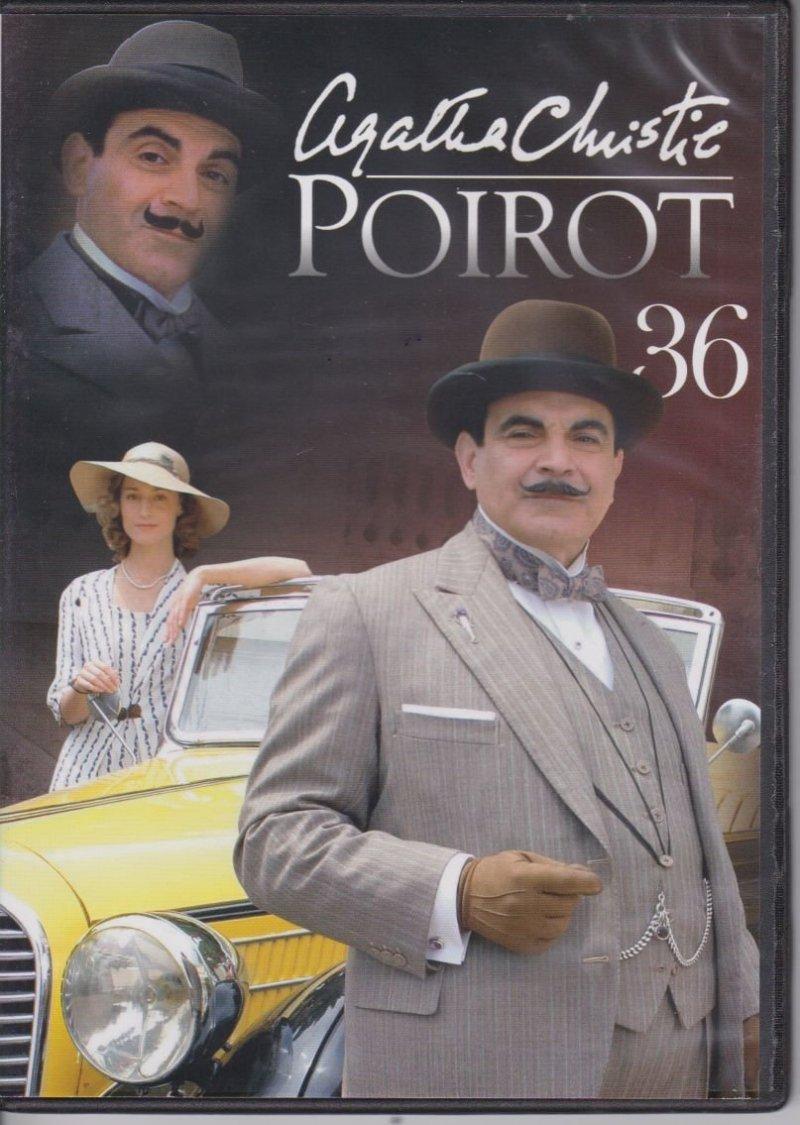 Agatha Christie Poirot cz. 36 Tajemnica błękitnego ekspresu DVD
