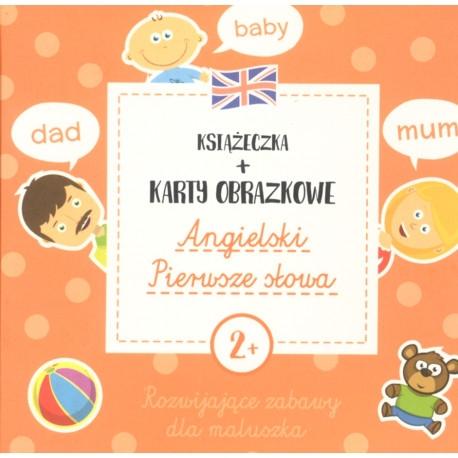 Angielski pierwsze słowa Książeczka + Karty obrazkowe Natalia Minge, Krzysztof Minge