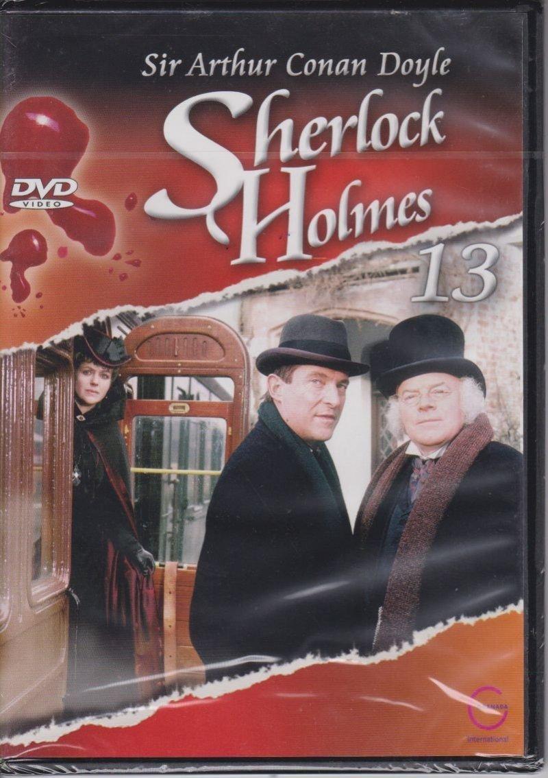 Sherlock Holmes Sir Arthur Conan Doyle cz. 13 Diabelska noga, Zabójstwo w Wisteria Lodge DVD