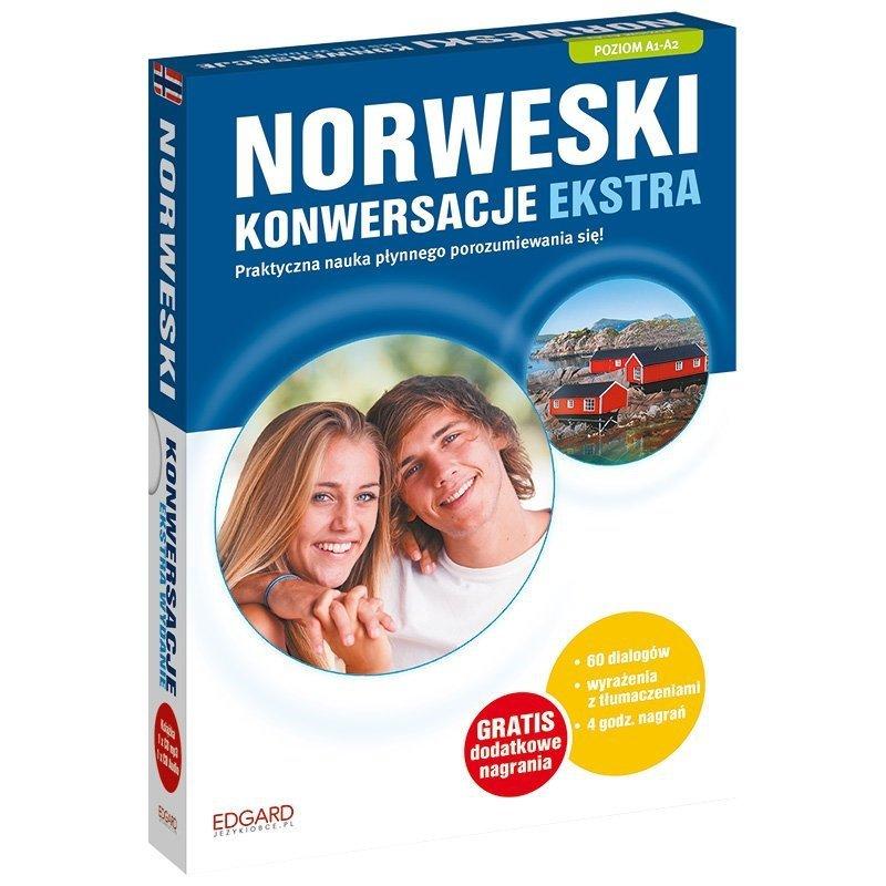 Norweski Konwersacje Extra Poziom A1-A2 Książka  + CD mp3