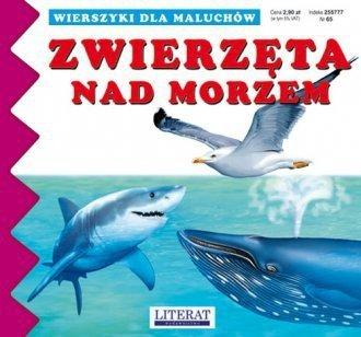 Wierszyki dla maluchów Zwierzęta nad morzem Joanna Paruszewska, Katarzyna Stocka