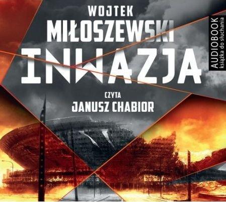 Inwazja Wojciech Miłoszewski Audiobook mp3 CD