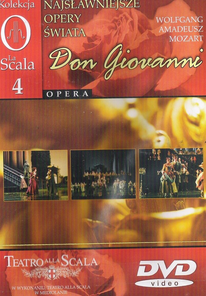 Don Giovanni najsławniejsze opery świata cz.4 DVD