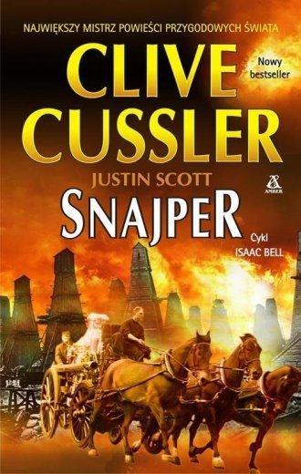 Snajper Clive Cussler Justin Scott