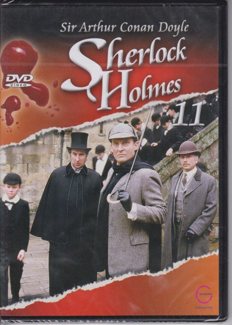 Sherlock Holmes Sir Arthur Conan Doyle cz. 11 Człowiek z blizną, Zniknięcie młodego lorda DVD