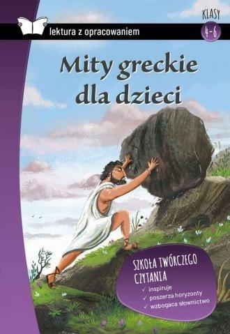 Mity greckie dla dzieci Lektura  z opracowaniem