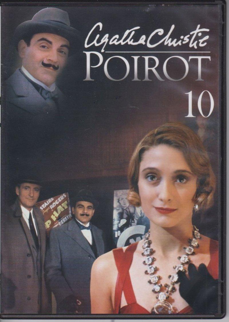 Agatha Christie Poirot cz. 10 Porwanie premiera, Gwiazda zachodu DVD