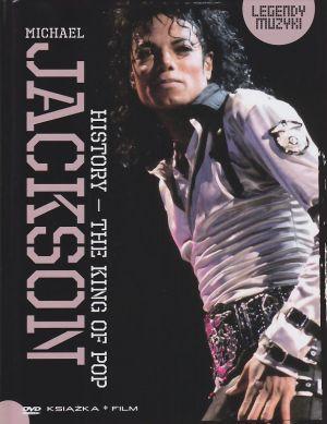 Michael Jackson History - The King of Pop Legendy Muzyki książka + film