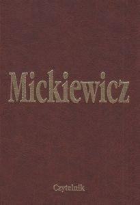 Literatura słowiańska Dzieła Tom XI Adam Mickiewicz