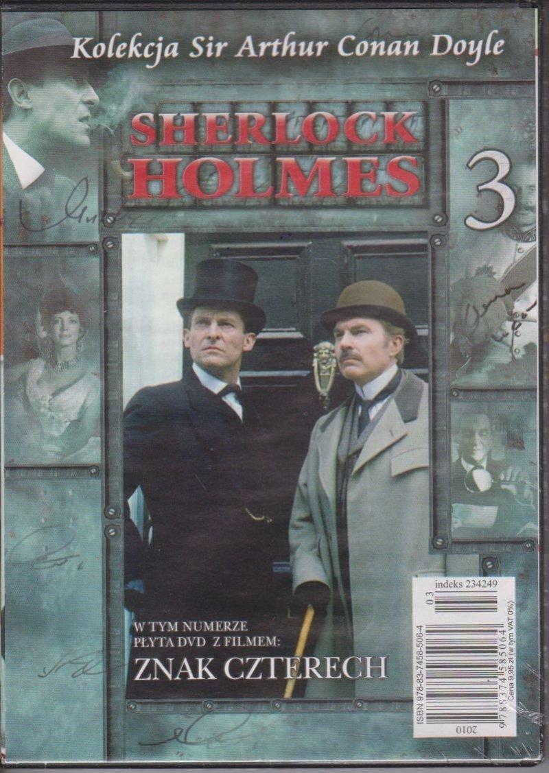 Sherlock Holmes Kolekcja Sir Arthur Conan Doyle cz. 3 Znak czterech DVD