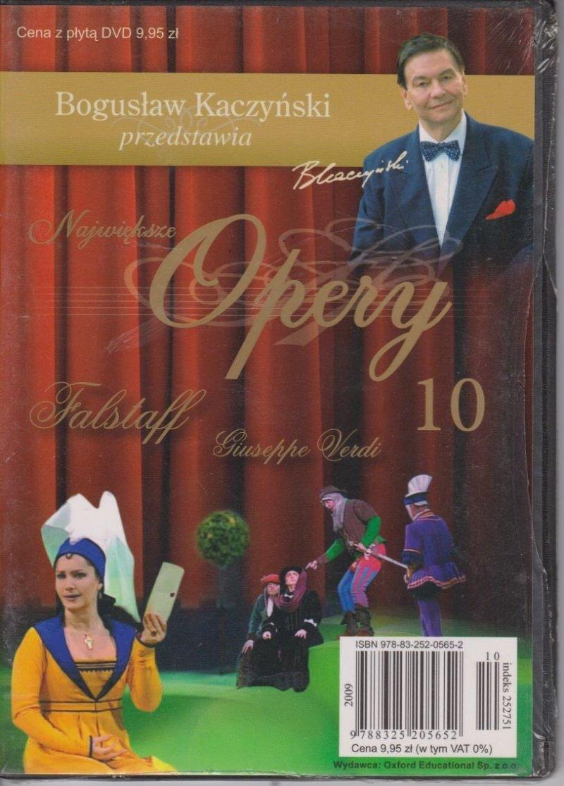Falstaff Największe opery cz.10 Bogusław Kaczyński przedstawia DVD