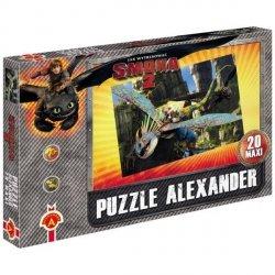 Puzzle Jak Wytresować Smoka 20 Maxi Prod Polski Alexander