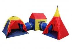Namiot dla Dzieci 4w1 Igloo Domek Tipi Tunel 8906