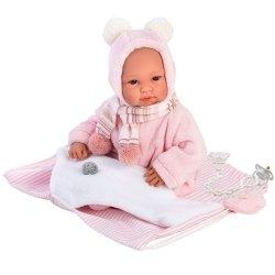 Hiszpańska lalka bobas dziewczynka Bebita – płacze 36cm  #T1