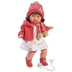 Hiszpańska lalka dziewczynka Lola – płacze 38cm  #T1