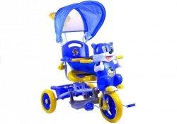 Rowerek trójkołowy Kotek Śliczny Melodie Niebieski #C1