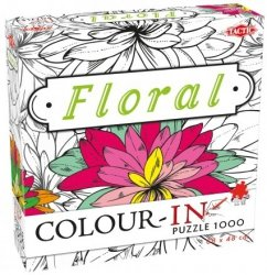Puzzle do Malowania ColourwFloral Kwiaty 1000 el. Tactic