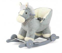 Koń Konik na biegunach Polly Szary #B1