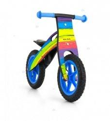 Rowerek biegowy drewniany King Rainbow #B1