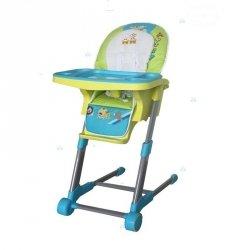 Krzesełko do Karmienia Rainbow Blue #D1