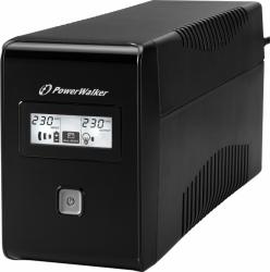 Zasilacz awaryjny POWERWALKER VI 650 LCD 10120043 650VA