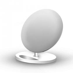 TECHLY 103502 Techly Bezprzewodowa indukcyjna ładowarka Qi 10W biała podstawka
