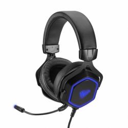 Słuchawki z mikrofonem AULA GAMING Czarno-niebieski 278480
