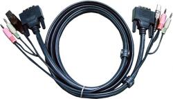 Kabel KVM ATEN 1.8m 2L-7D02U
