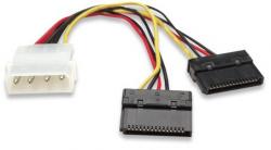 Kabel zasilający MANHATTAN 4 pin 0.15m. 349369