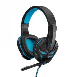 Słuchawki z mikrofonem AULA GAMING Czarno-niebieski 504645