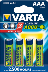 Baterie VARTA Niklowo-wodorkowa HR03 800mAh 4 szt. 56703101404