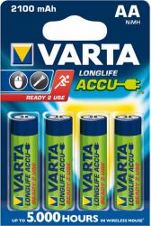 Baterie VARTA Niklowo-wodorkowa HR6 2100mAh 4 szt. 56706101404