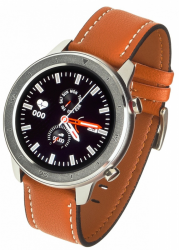 GARETT Smartwatch Men 5S orange leather