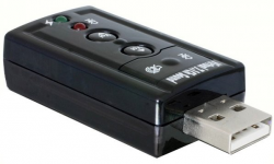 Karta dźwiękowa DELOCK USB Sound Adapter 7.1 61645