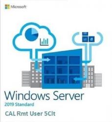 Licencje dostępowe DELL Windows Server 2019 CAL 5-User 623-BBCU