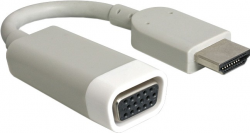 Adapter DELOCK HDMI - VGA HDMI (wtyk) - VGA (gniazdo) 65469