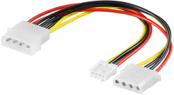 Kabel AKYGA Kabel zasilający Molex do mini-Molex + Molex AK-CA-14