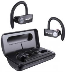 Słuchawki Bluetooth 5.0 T22 TWS + stacja dokująca/power bank 1500mAh Czarny